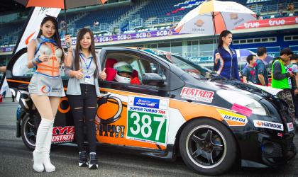 คอมแพ็ค เบรก หนุน Superclub Racing Team โชว์ฟอร์ม Super Turbo Thailand 2018
